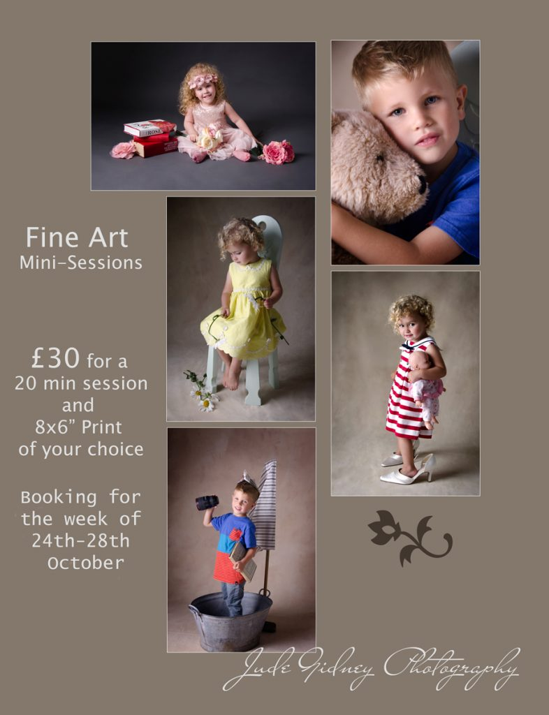 Mini sessions fine art photography