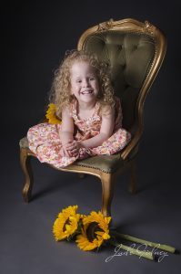 Millie Shaw is five and full fun