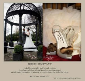 Special Wedding Photography Offer from Jude Photography this February